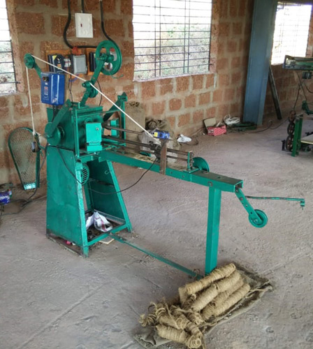 Coir Winding and Spinning Machines